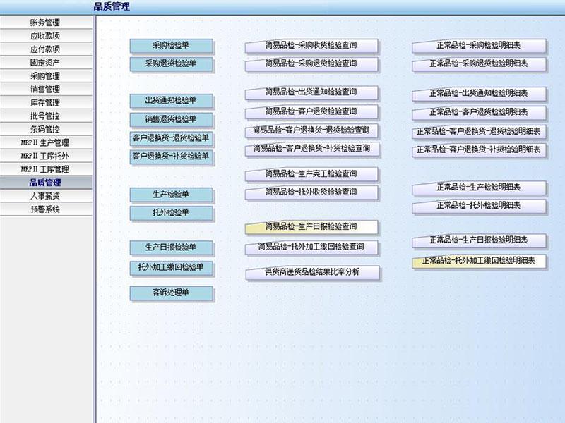ERP系统管理